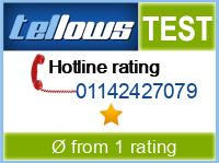 tellows Bewertung 01142427079