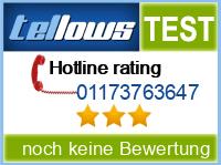 tellows Bewertung 01173763647