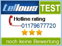 tellows Bewertung 01179677720