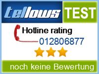 tellows Bewertung 012806877