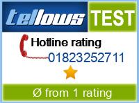tellows Bewertung 01823252711