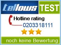 tellows Bewertung 0203318111