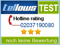 tellows Bewertung 02037190080