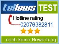 tellows Bewertung 02076382811