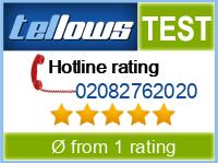 tellows Bewertung 02082762020