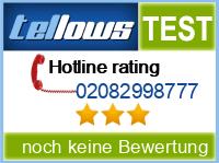 tellows Bewertung 02082998777