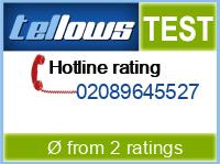 tellows Bewertung 02089645527