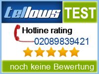 tellows Bewertung 02089839421