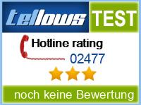 tellows Bewertung 02477