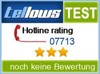 tellows Bewertung 07713