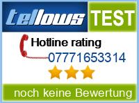 tellows Bewertung 07771653314