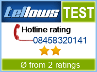 tellows Bewertung 08458320141