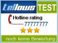 tellows Bewertung 77777777